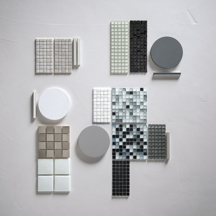 Mosaico+ White/Black/Grey mood
