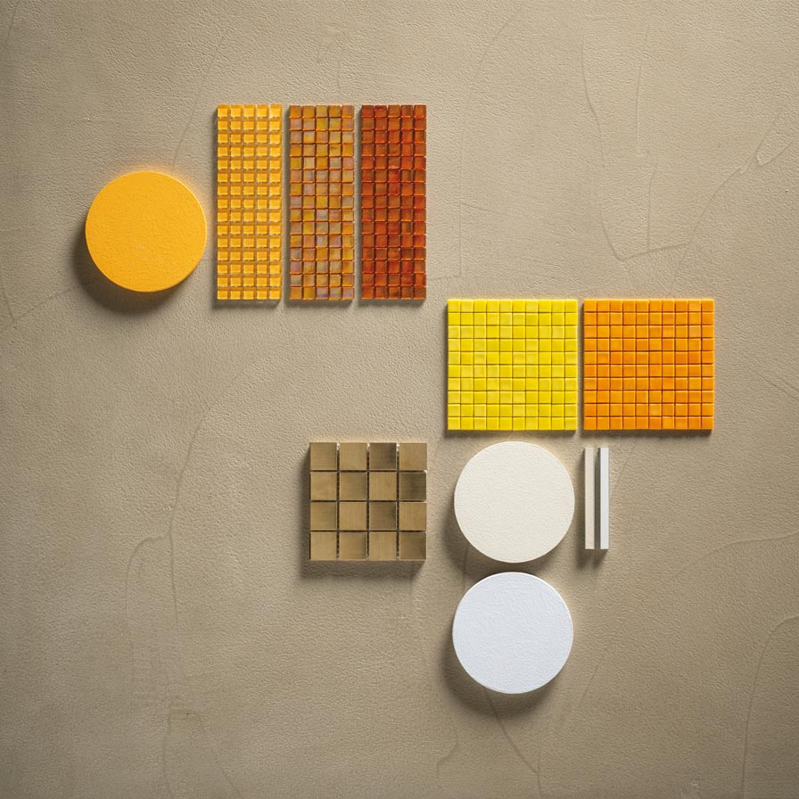 Mosaico+ Yellow mood