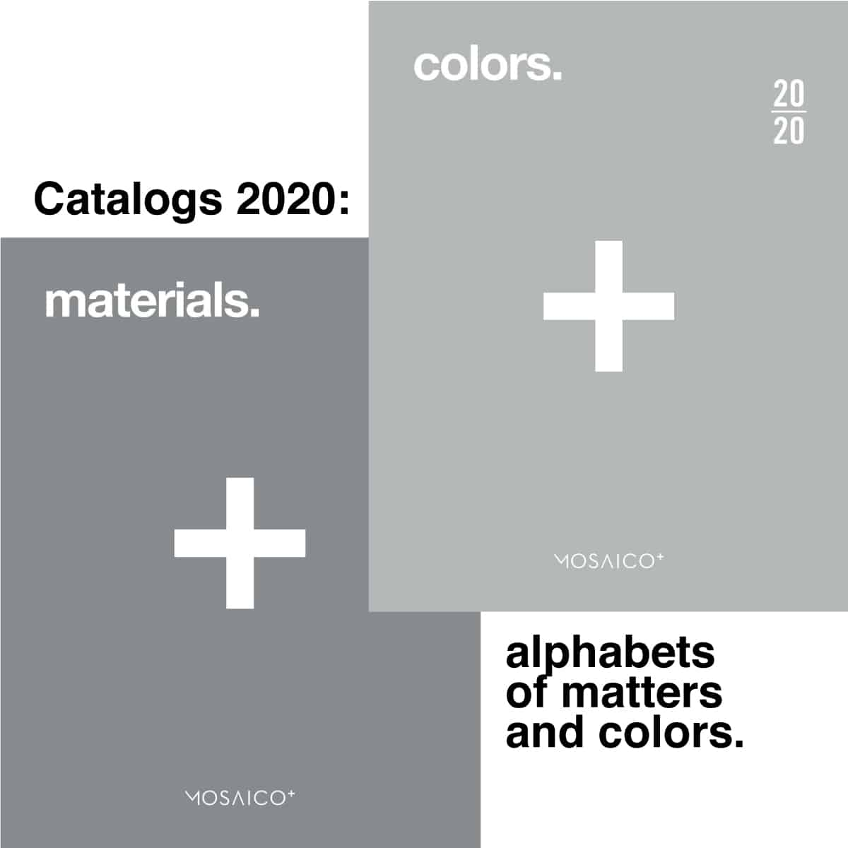 New catalogs 2020